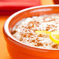 Warm Rice Pudding Cereal