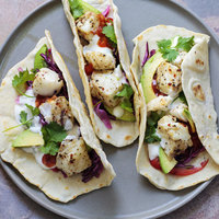 Grilled Halibut Tacos