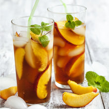 Iced Peach Tea